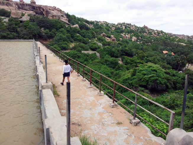 Hampi_SanapurReservoir_Dam - Magical sights of Hampi
