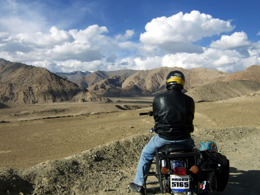 On the Leh-Srinagar highway in Ladakh, India - travel photos