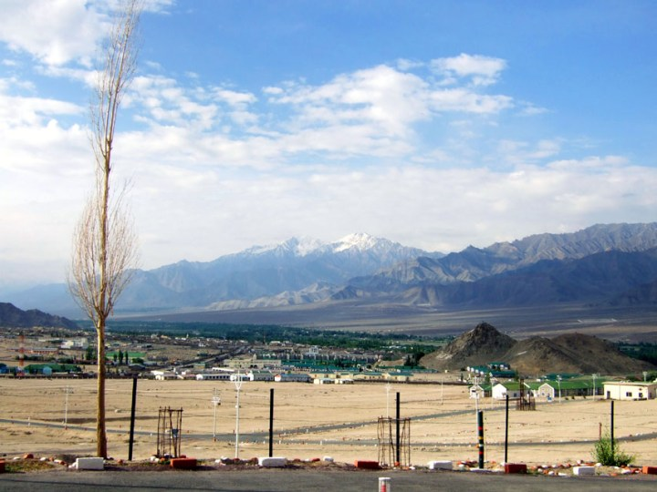 Leh - View from guesthouse - Eight things we learned in Ladakh
