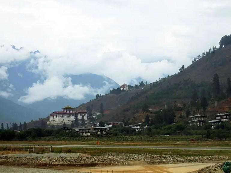 Bhutan - Paro airport