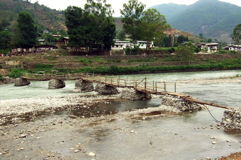 Bhutan - Punakha bridge