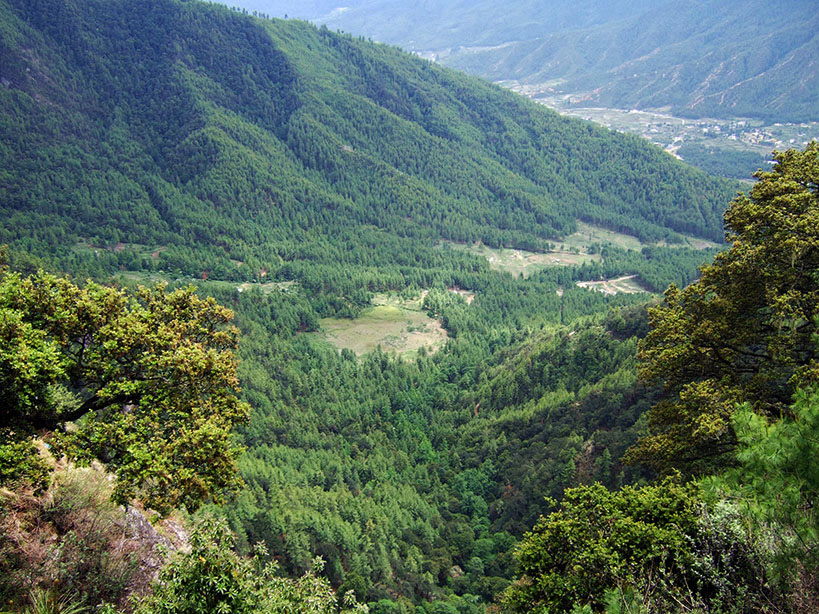 Bhutan - View from Takstang