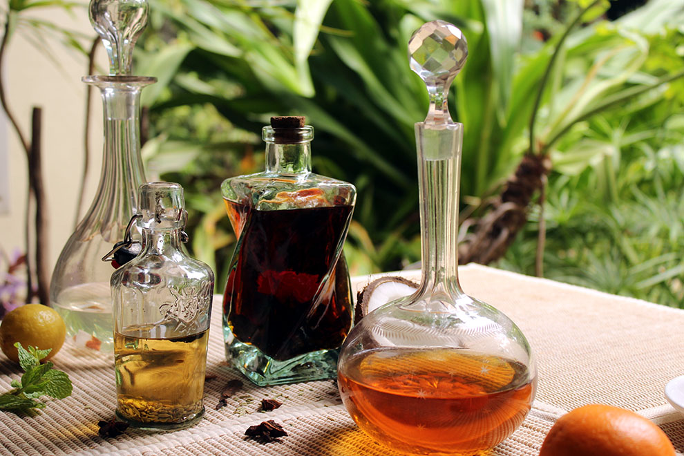 Four easy infusions with which to spice up your home bar