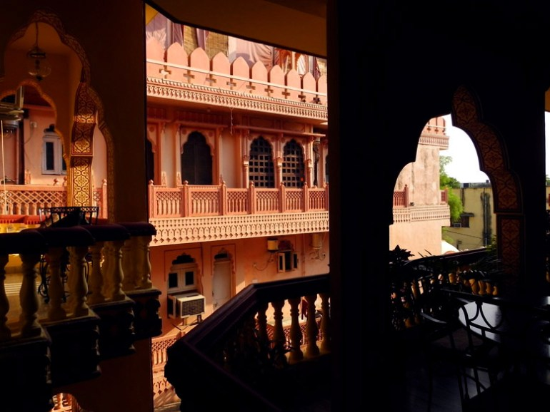 Jaipur - Hotel blacony 2 - Eight great reasons why you should visit Rajasthan, 'land of kings'