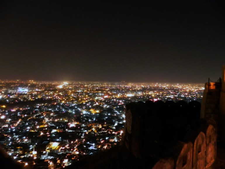 Jaipur - View from Jaigarh