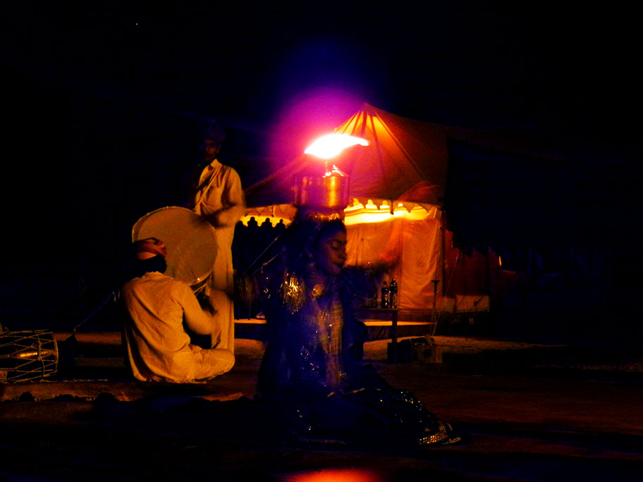 Jaisalmer - Fire dancer