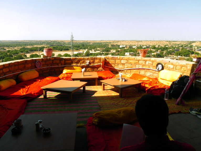 Jaisalmer - Fort top lounge - Eight great reasons why you should visit Rajasthan, 'land of kings'
