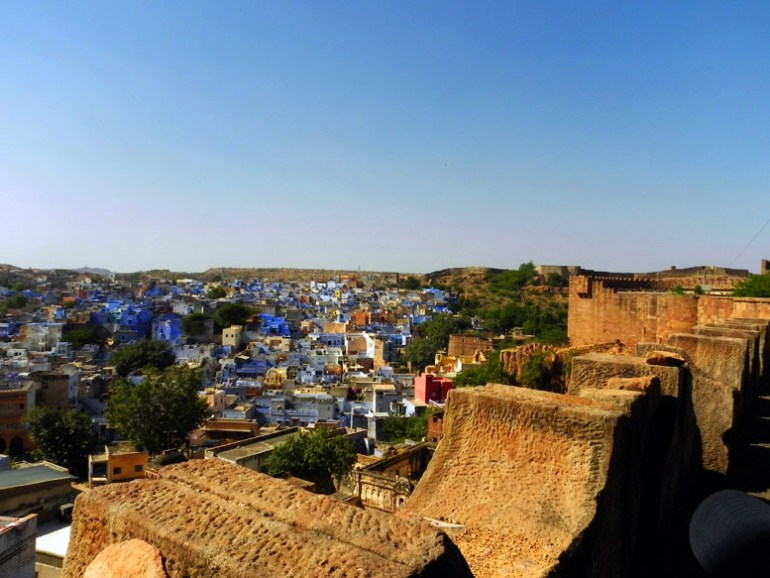 Jodhpur - Traditional blue houses