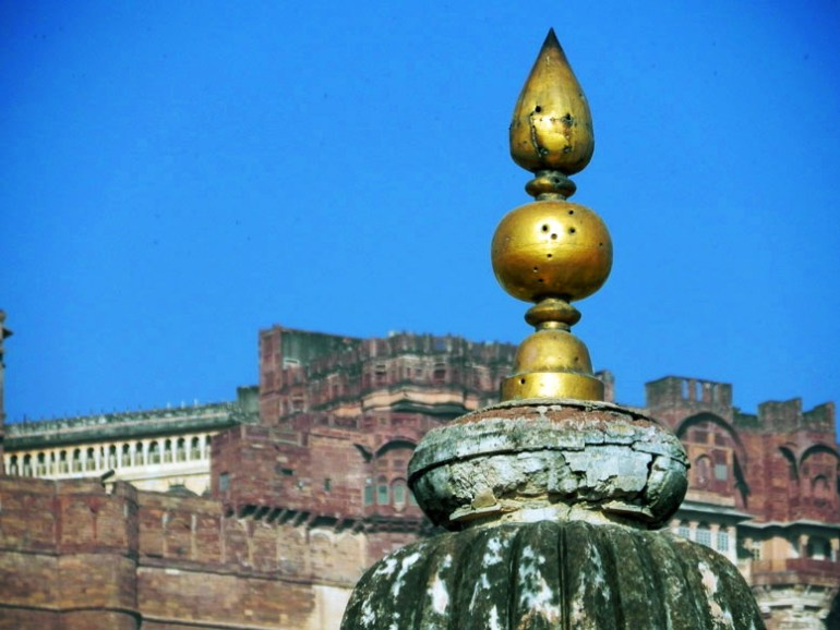 Jodhpur - view of mehrangarh