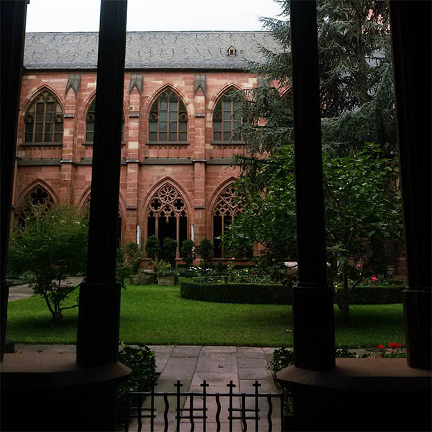 Mainz - Cathedral garden