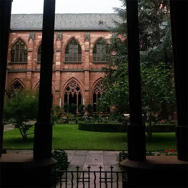 Mainz - Cathedral garden