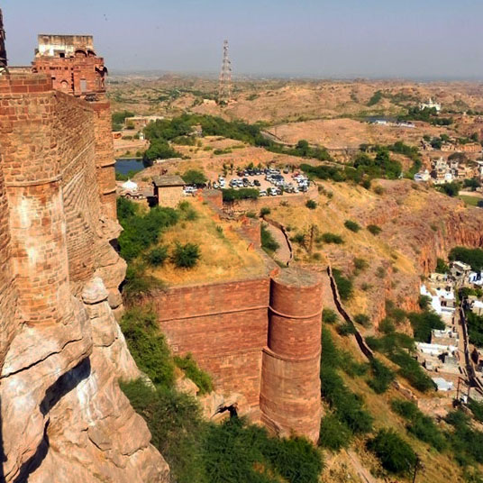 Mehrangarh - Outer fortifications - Eight great reasons why you should visit Rajasthan, 'land of kings'