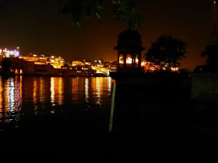 Udaipur - Lake at night - Eight great reasons why you should visit Rajasthan, 'land of kings'