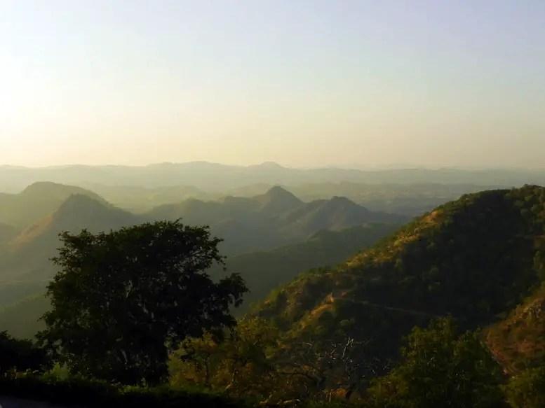 Udaipur - Sajjangarh hill view 1