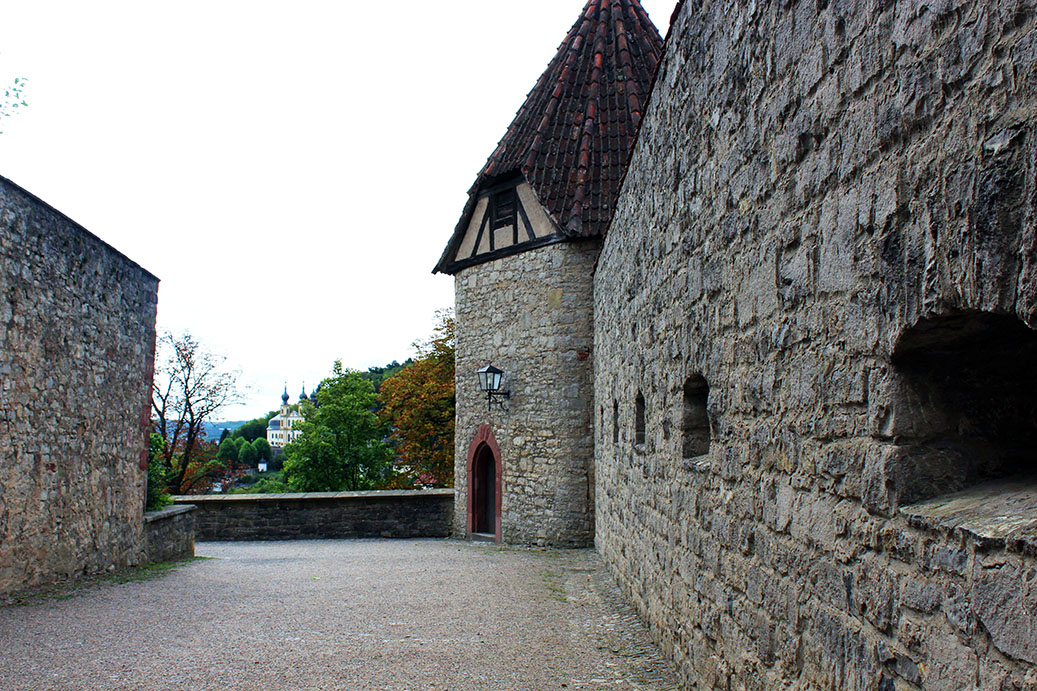 Wuerzburg - Castle ramparts