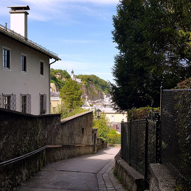 The path to the fortress - Ainring, Salzburg and the Jenner: A road trip through Germany, and other ways to pass the time (Part 5)