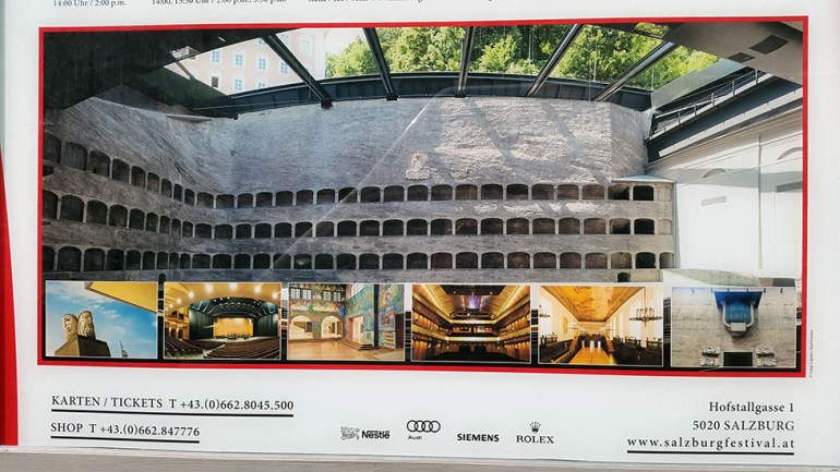 Poster of the stone theatre - Ainring, Salzburg and the Jenner: A road trip through Germany, and other ways to pass the time (Part 5)