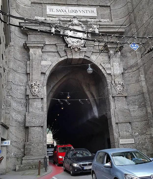 Tunnel in Salzburg