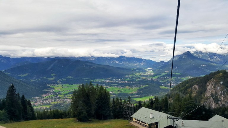 Halfway view  - Ainring, Salzburg and the Jenner: A road trip through Germany, and other ways to pass the time (Part 5)