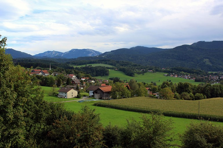 First 'real' view of Bavaria - Ainring, Salzburg and the Jenner: A road trip through Germany, and other ways to pass the time (Part 5)