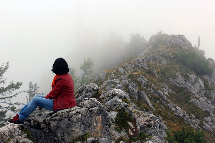 Sitting in the clouds - Ainring, Salzburg and the Jenner: A road trip through Germany, and other ways to pass the time (Part 5)