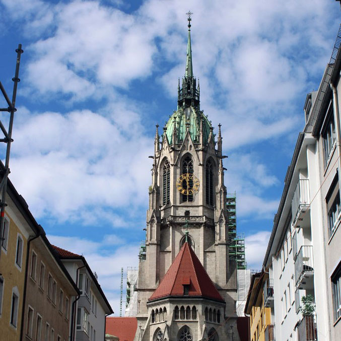 Munich - Cathedral - Munich and the Oktoberfest: Part 6 of A road trip through Germany, and other ways to pass the time