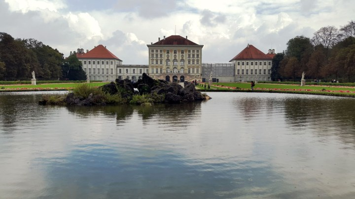 Munich - Nymphenburg lake - Munich and the Oktoberfest: Part 6 of A road trip through Germany, and other ways to pass the time