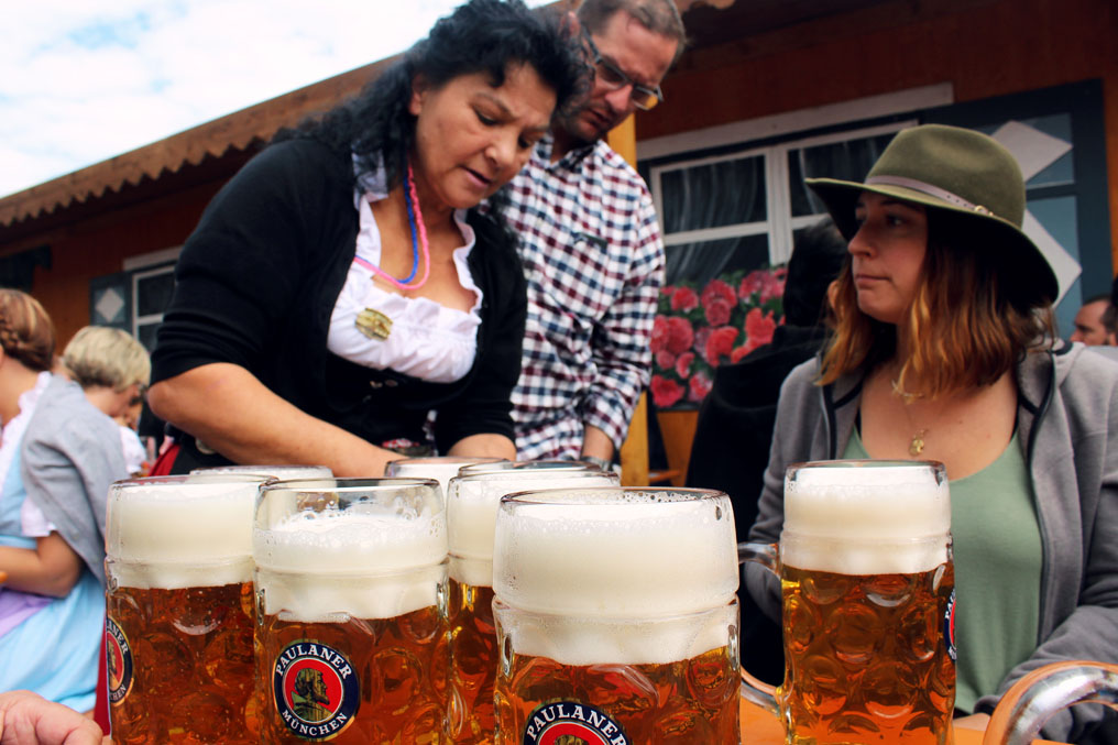 Munich - Okotberfest waitress - Munich and the Oktoberfest: Part 6 of A road trip through Germany, and other ways to pass the time
