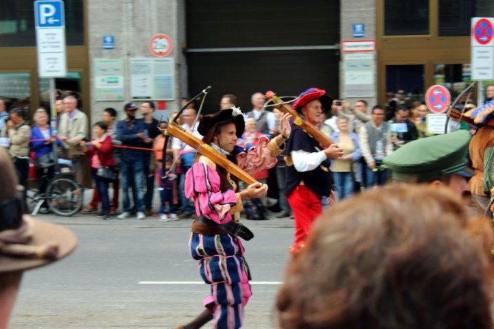 Munich - Parade crossbowmen - Munich and the Oktoberfest: Part 6 of A road trip through Germany, and other ways to pass the time
