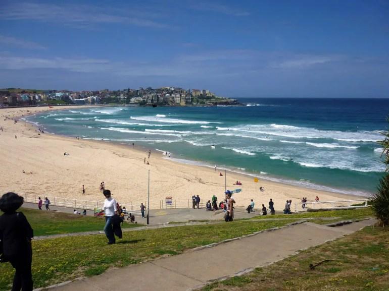 Sydney - Bondi approach