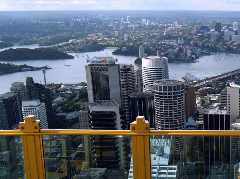 Sydney - Tower platform view
