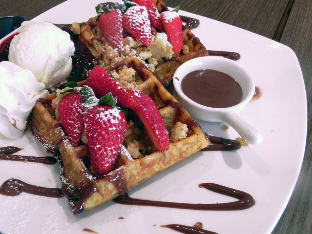 Vegetarianism - Waffles - tips on turning vegetarian