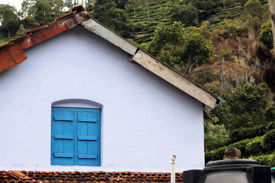 Coonoor - Silvertip cafe - House next door