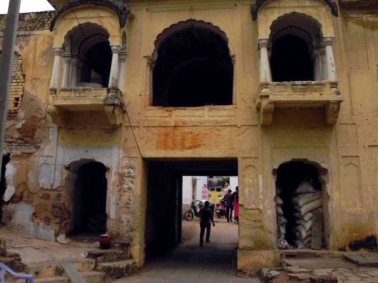 Paigah Tombs - Entrance