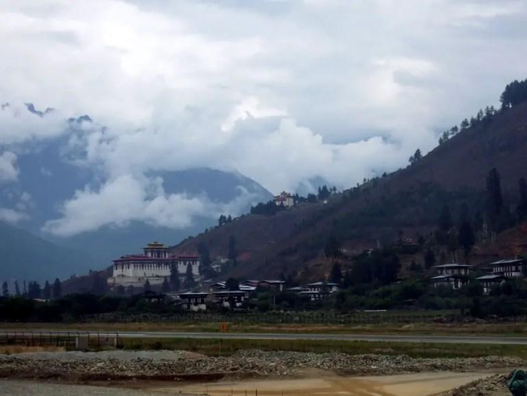 Bhutan - Paro airport - mountain holiday destinations in India
