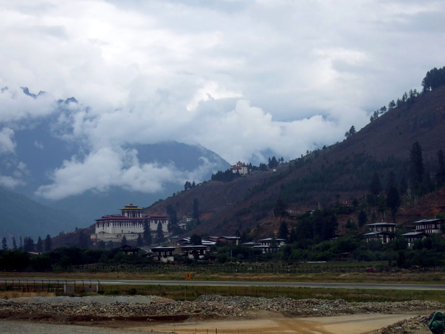 Bhutan - Paro airport - mountain holiday destinations in India