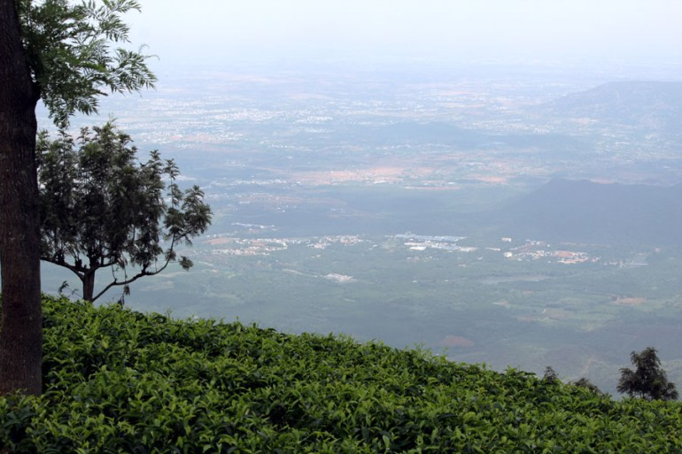 Coonoor - View of Mettupalayam - mountain holiday destinations in India