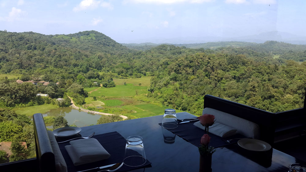 Coorg - Taj view - Restaurant