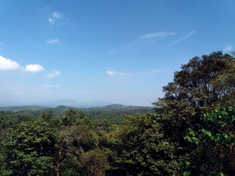 Coorg - View from Taj - mountain holiday destinations in India