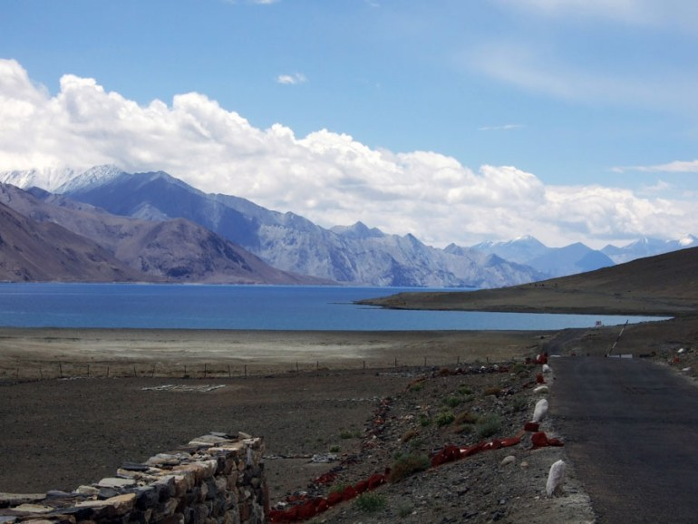 Pangong Tso lake in Ladakh, India - an escape from the summer heat