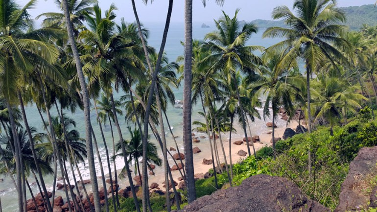 Agonda - Cabo de Rama - beach - perfect base for a Goa trip