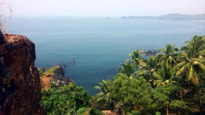 Agonda - Cabo de Rama - Rampart view 2 - perfect base for a Goa trip