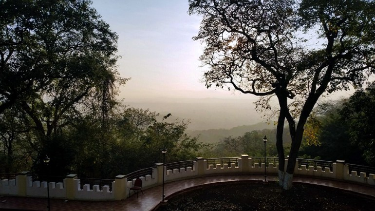 View from Haritha resort, Ananthagiri Hills, Vikarabad, India
