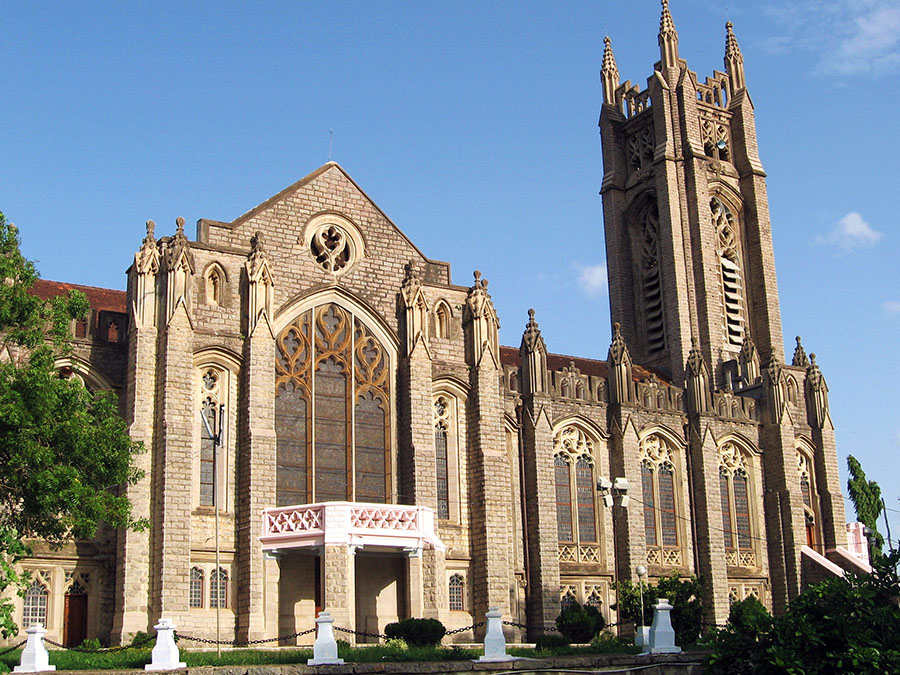 Road trips from Hyderabad - Medak cathedral, Medak, Telangana, India