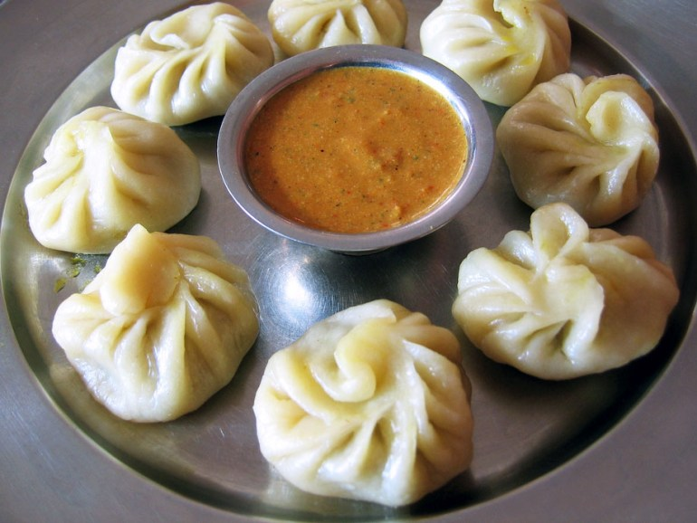Momos - delicate filled dumplings - West Bengal - vegetarian dishes from India