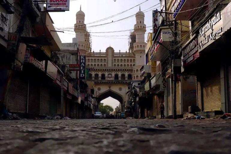 Empty Laad Bazaar - Charminar