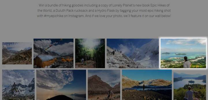 Screenshot of Lonely Planet feature - Copolia trail, Mahe, Seychelles