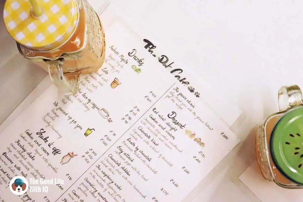 human menu - The Pet Café: Hyderabad's new pawty hotspot