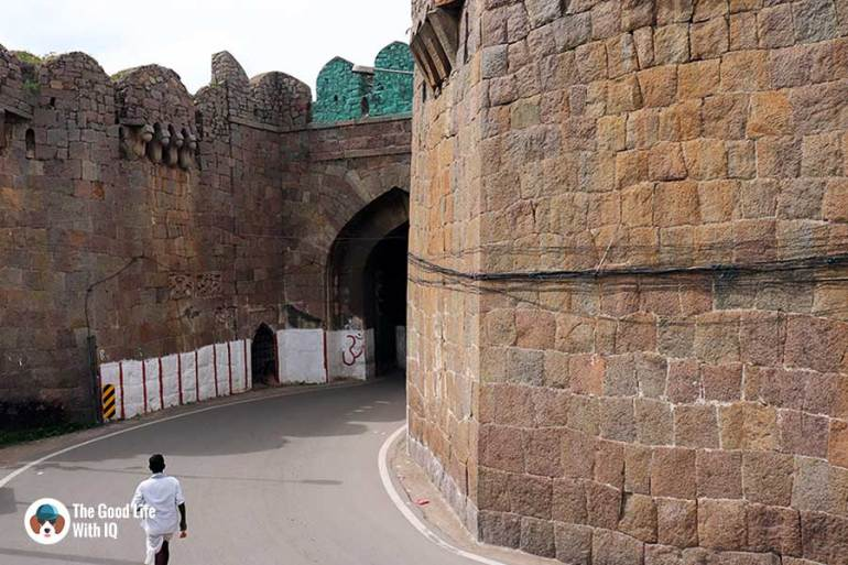 banjara darwaza - Things to do on the weekend in Hyderabad: The outer ramparts of Golconda Fort