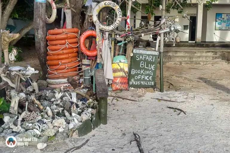 booking office - malindi marine national park